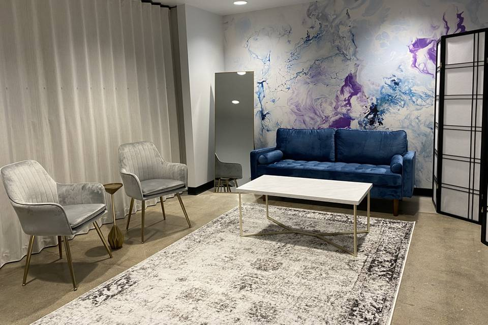 Comfortable and stylish furnishings