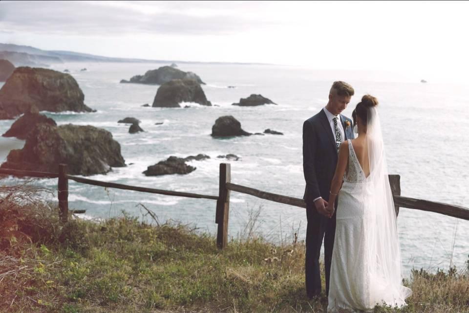 Wedding in Elk California