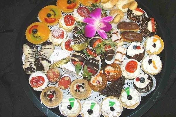 Viennese dessert assortment