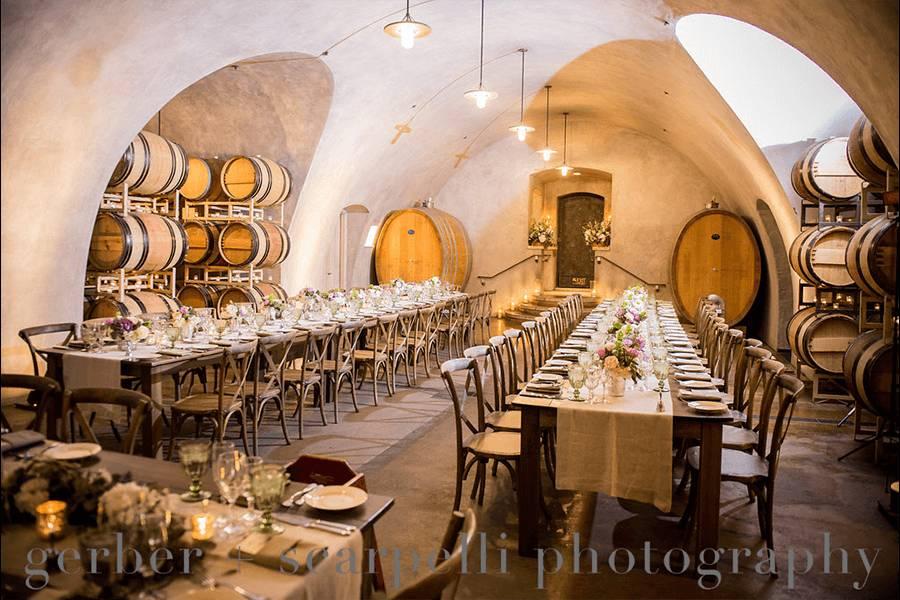 Wine cave dinner