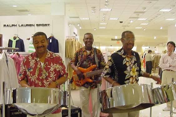 The Aquatones -Steel Drums