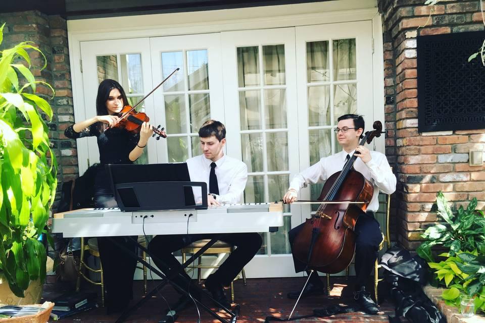 Trio piano violin cello