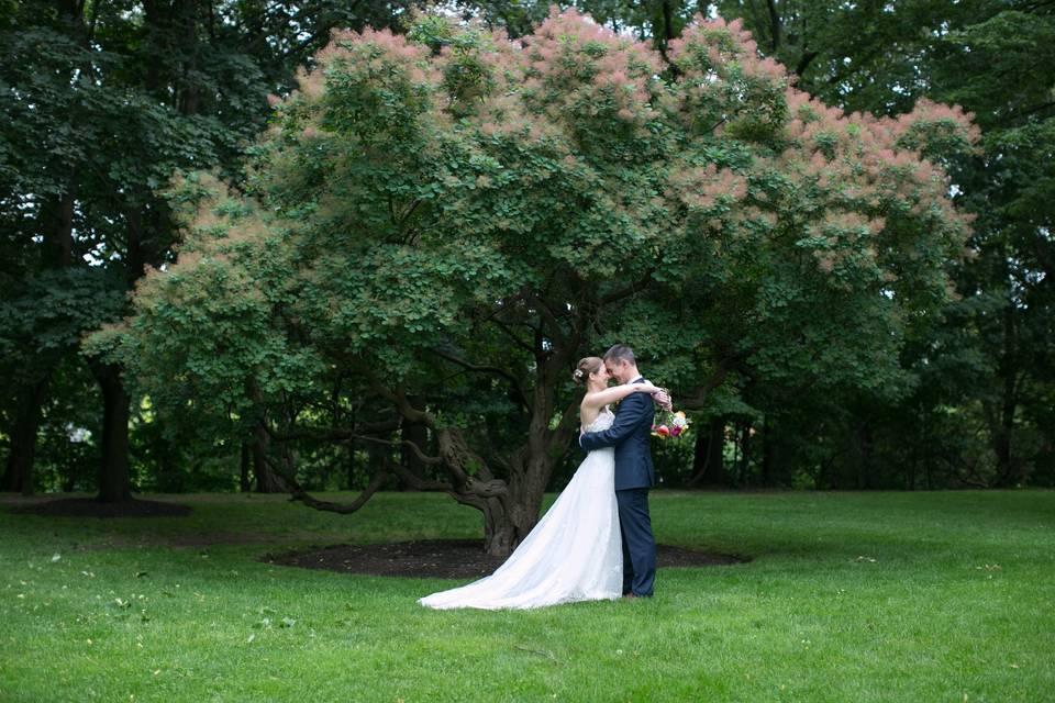 Outdoor wedding - nancy gould photography