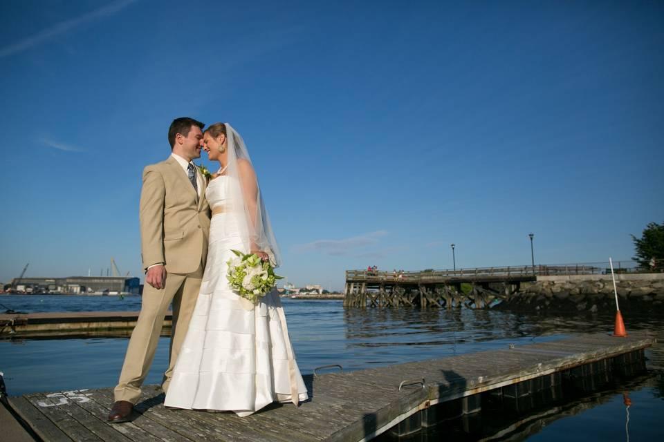 Newlyweds - nancy gould photography