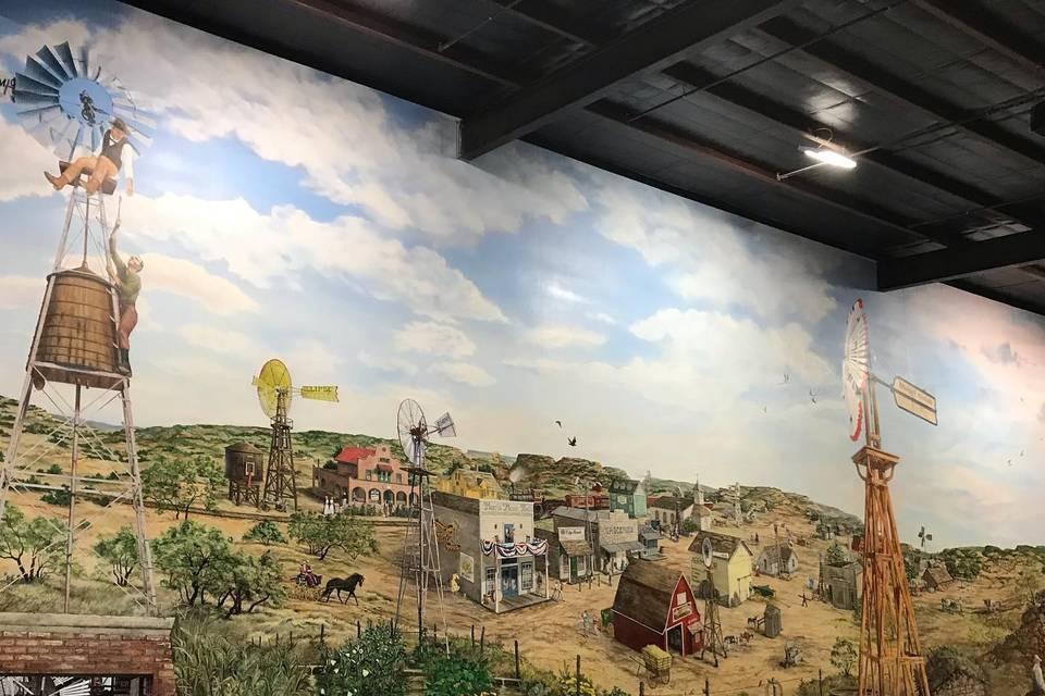 American Windmill Museum interiors