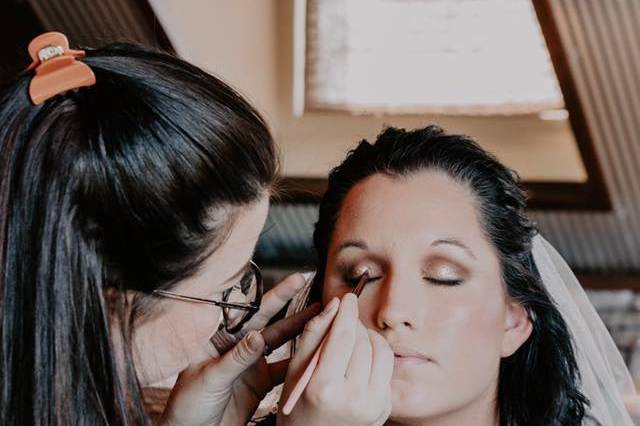 Styling the bride
