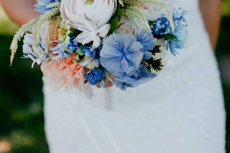 Forever bridal bouquet