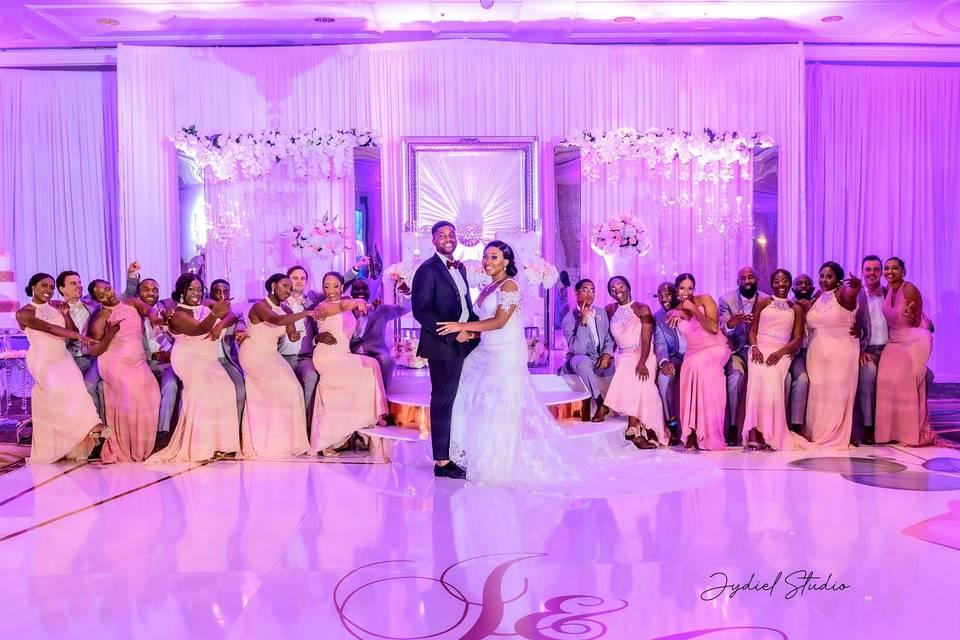 Bridal Castle Event Decorations