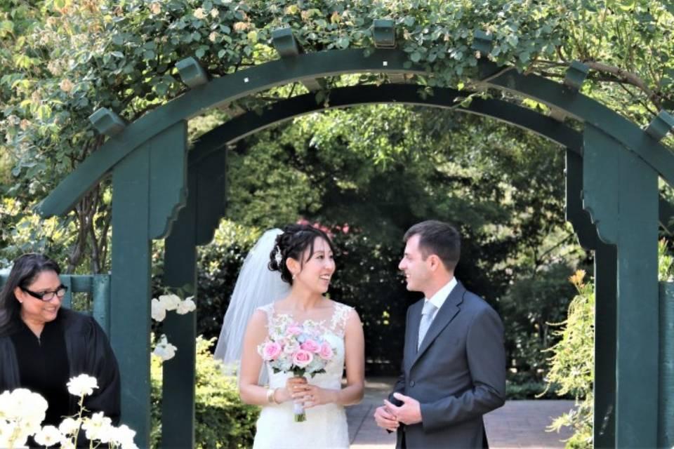 Gwen wedding officiant