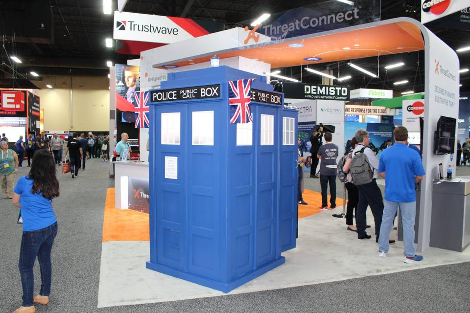 Our Doctor Who Tardis.