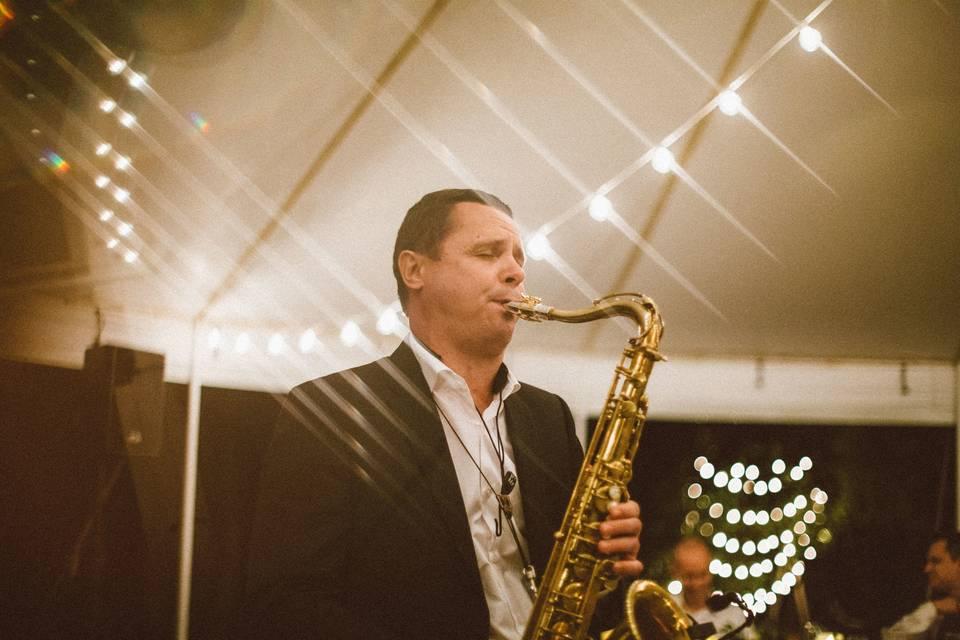 Andrii Liesnyi, Saxophonist & DJ