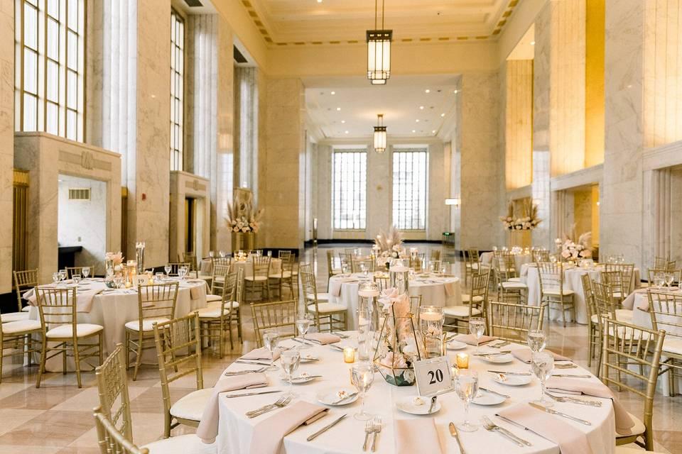Reception in Historic Lobby