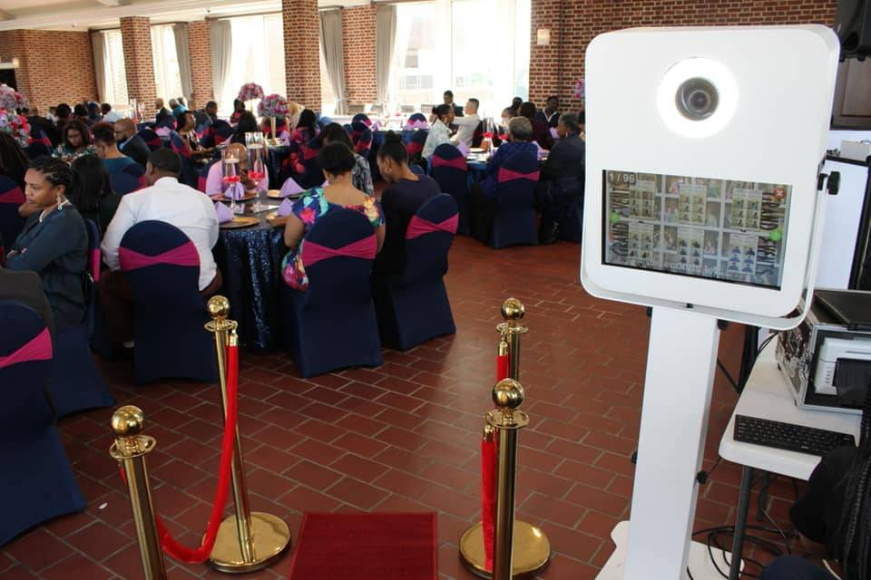 Great wedding with photo booth