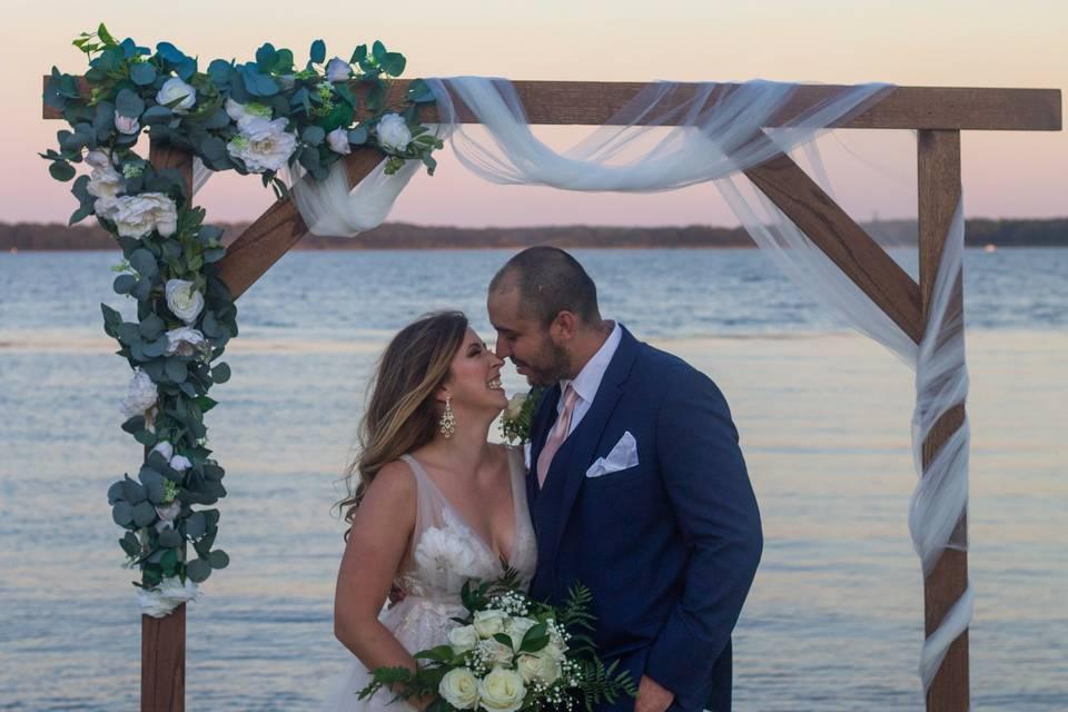 Finally husband and wife
