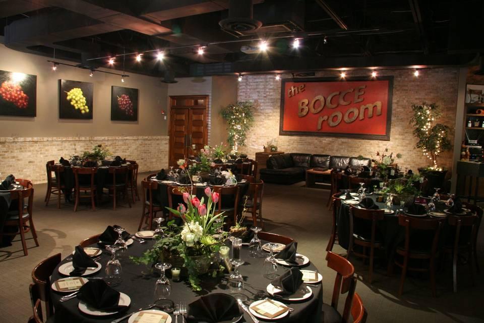 Bocce Room at Ippolito's