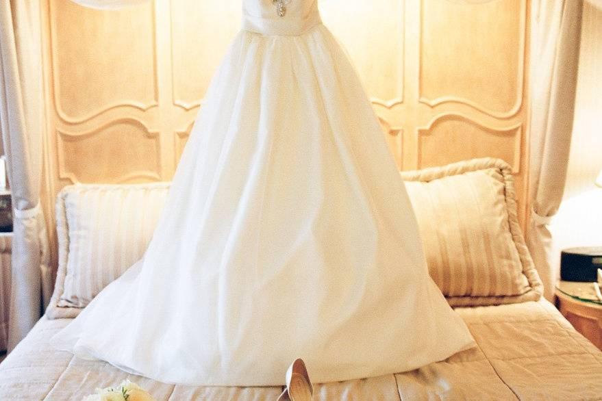 A dream dress by Priscilla of Boston