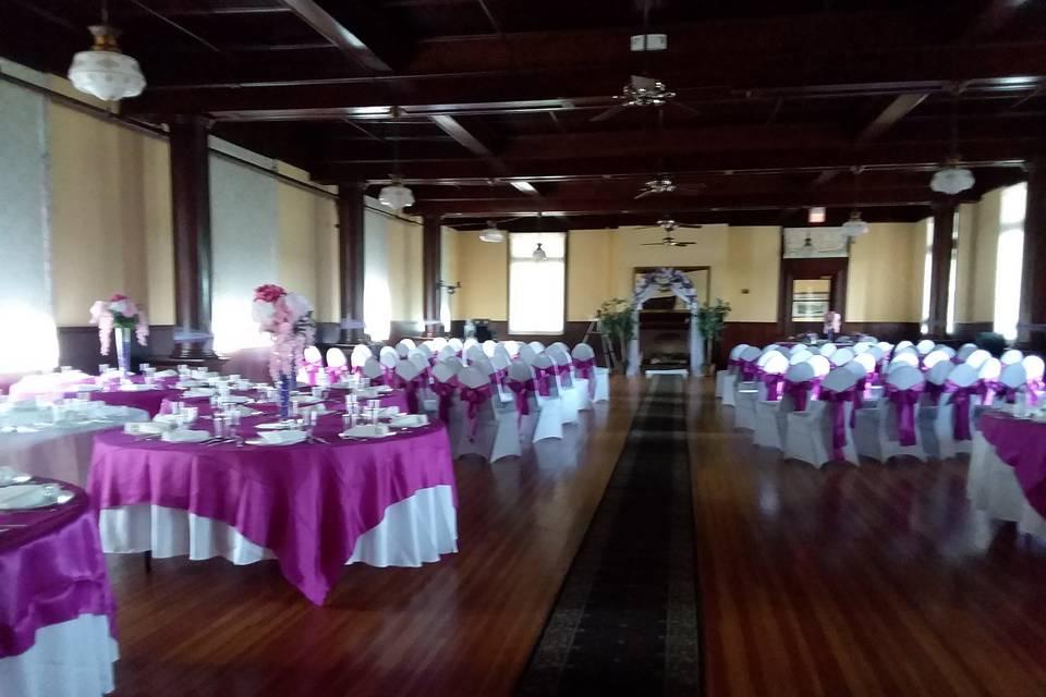Decorated Wedding/Reception