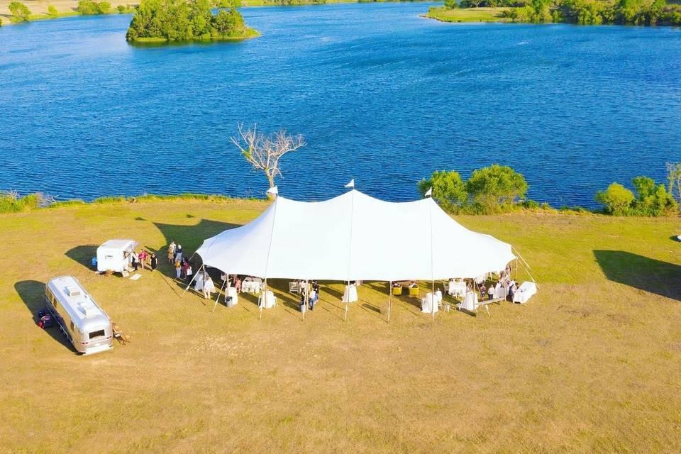 Green Field tent