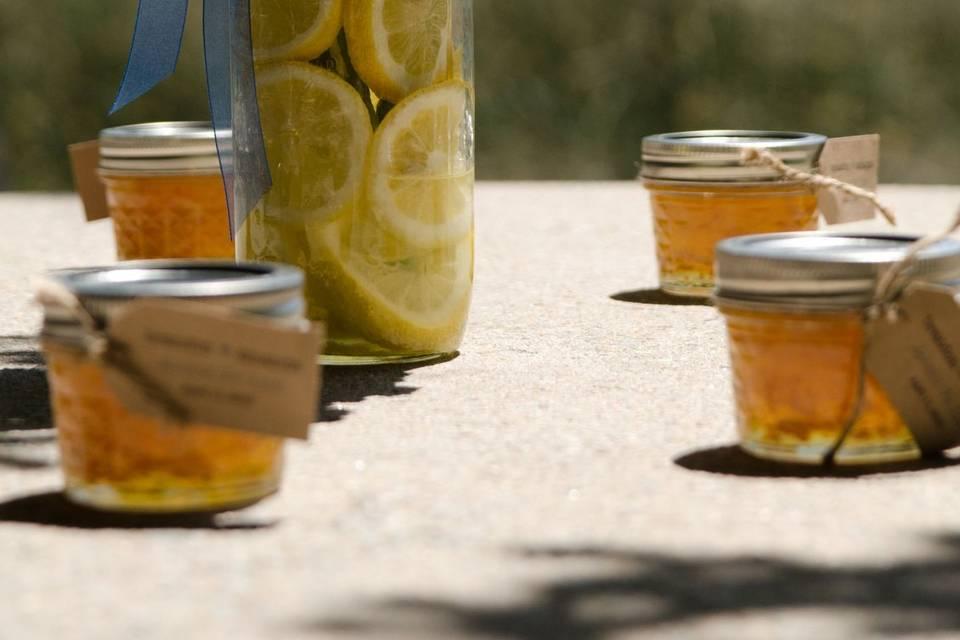 Burnt orange & honey marmalade