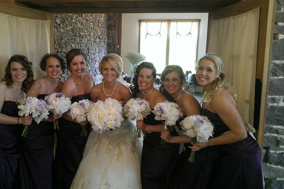 BRIDE AND GALS