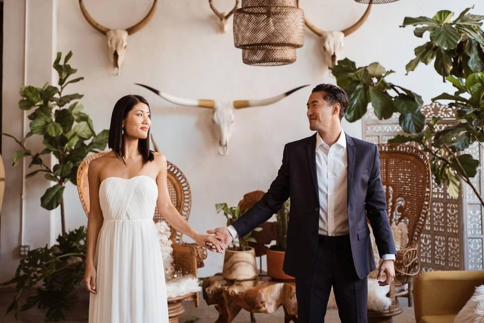 LA Love Weddings - Hand in hand