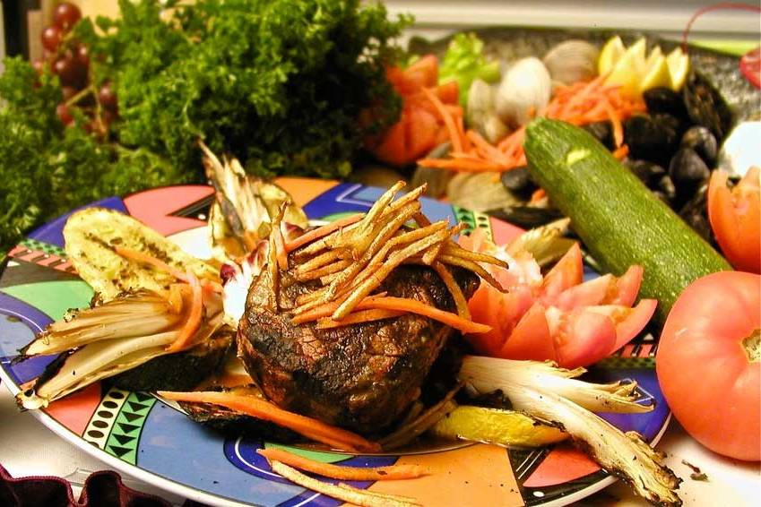 Sample food serving