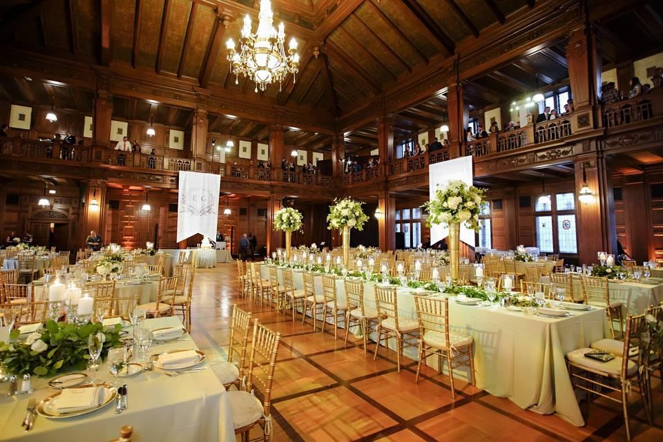 Reception in Ballroom