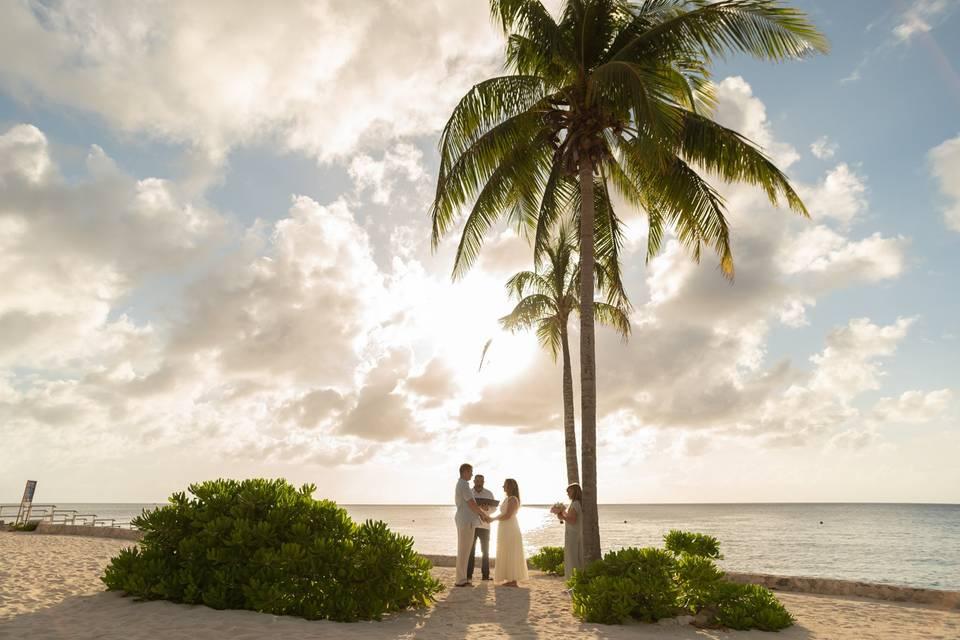 Riviera Maya Wedding Minister
