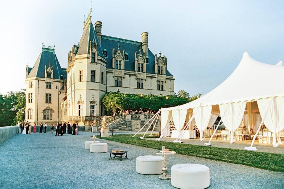 Tented pavilion
