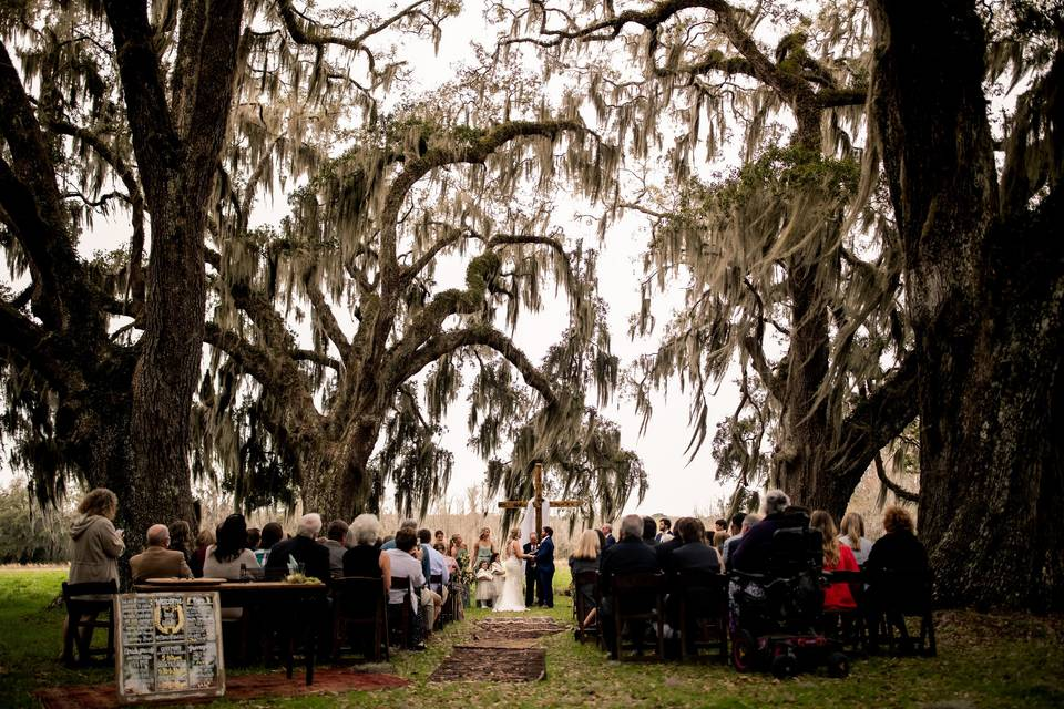 A favorite ceremony setting