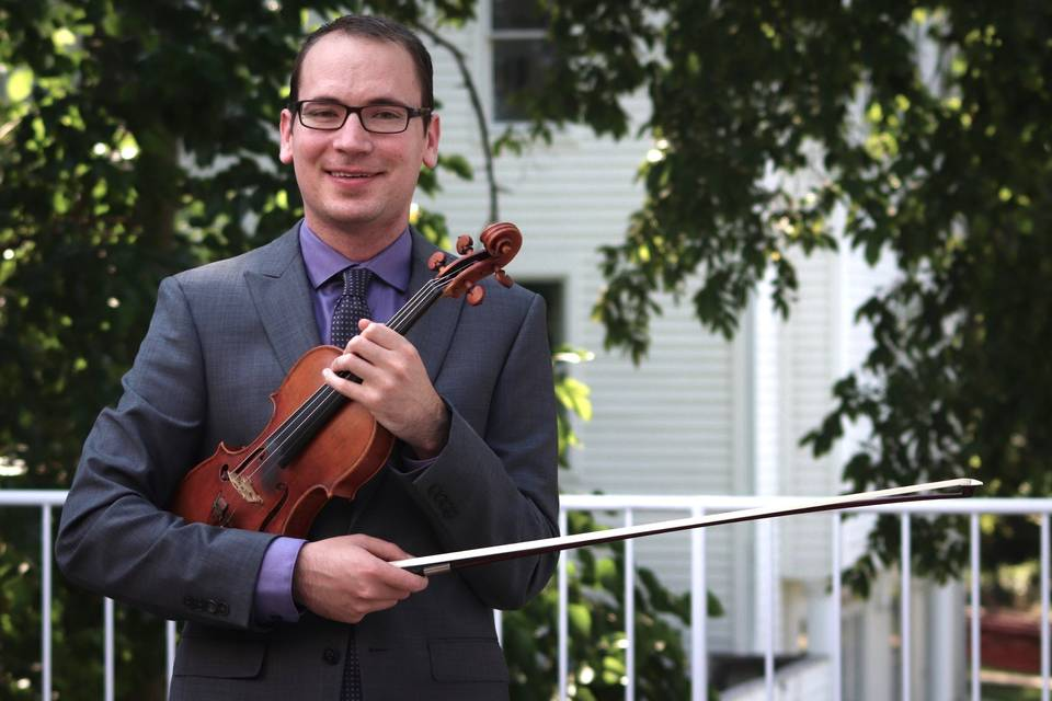 Tim, violinist and violist