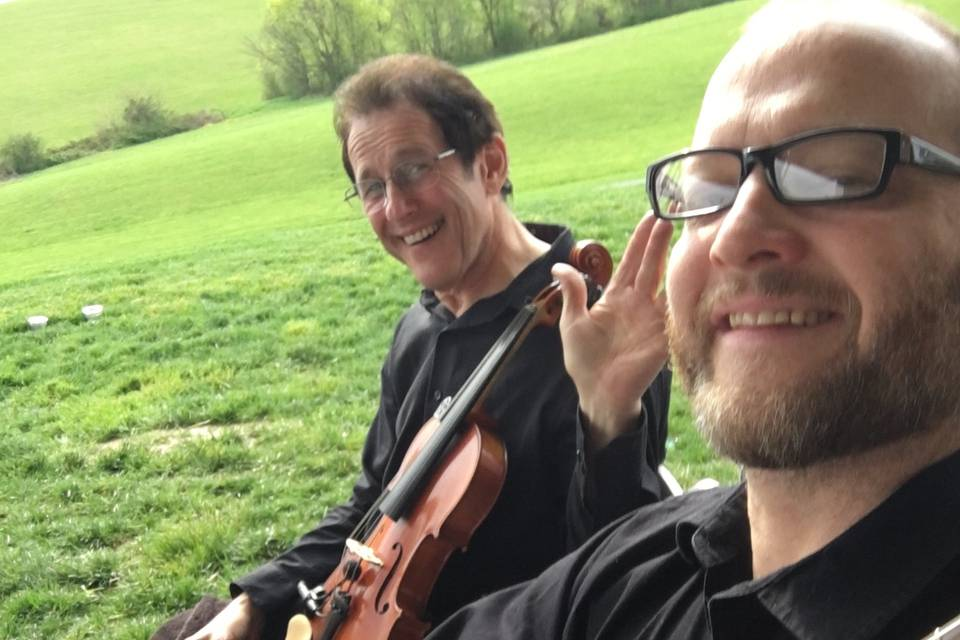 Violin Duo with Stephan