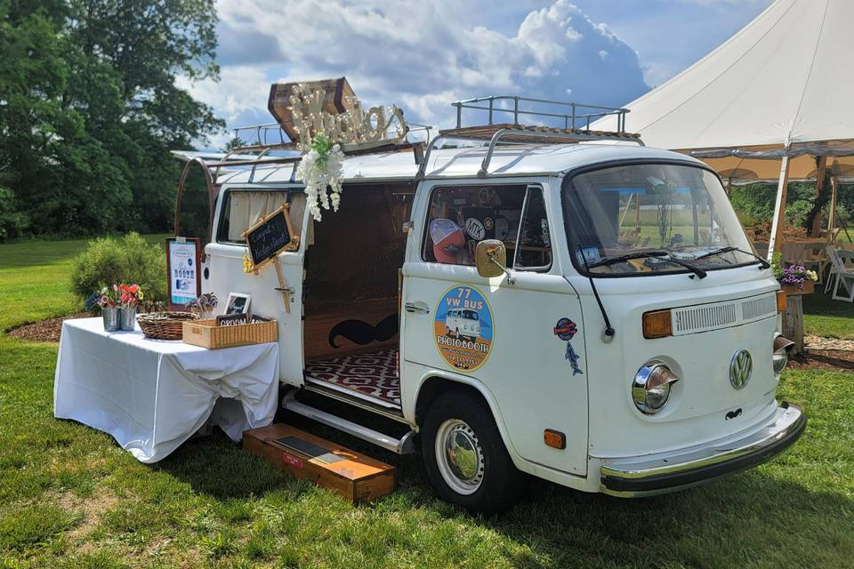 77 VW Bus Photo Booth