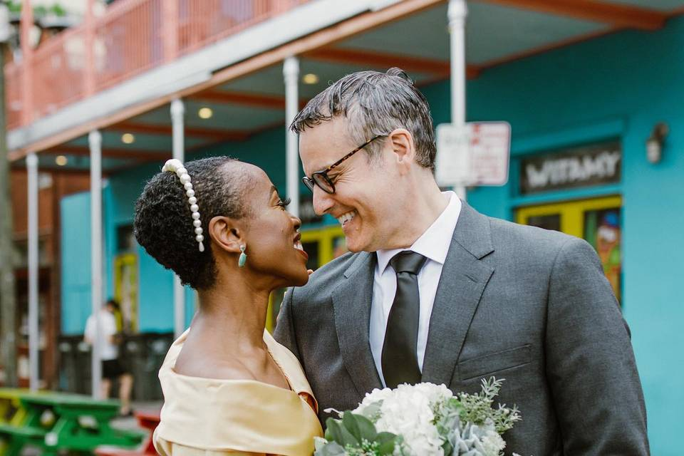 Frenchman street elopement