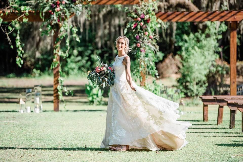 Outdoor Wedding Pergola
