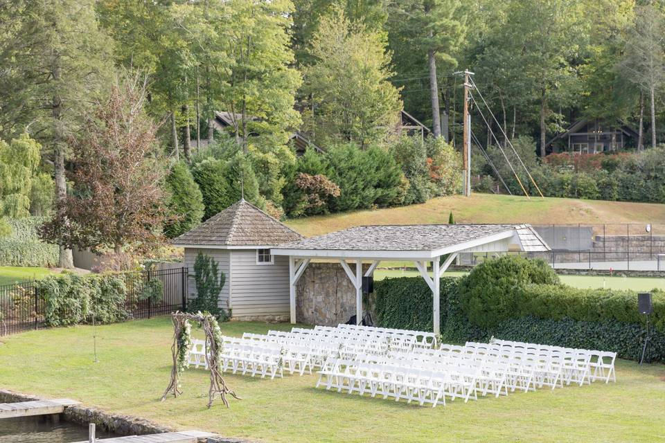 Lakeview Garden Ceremony