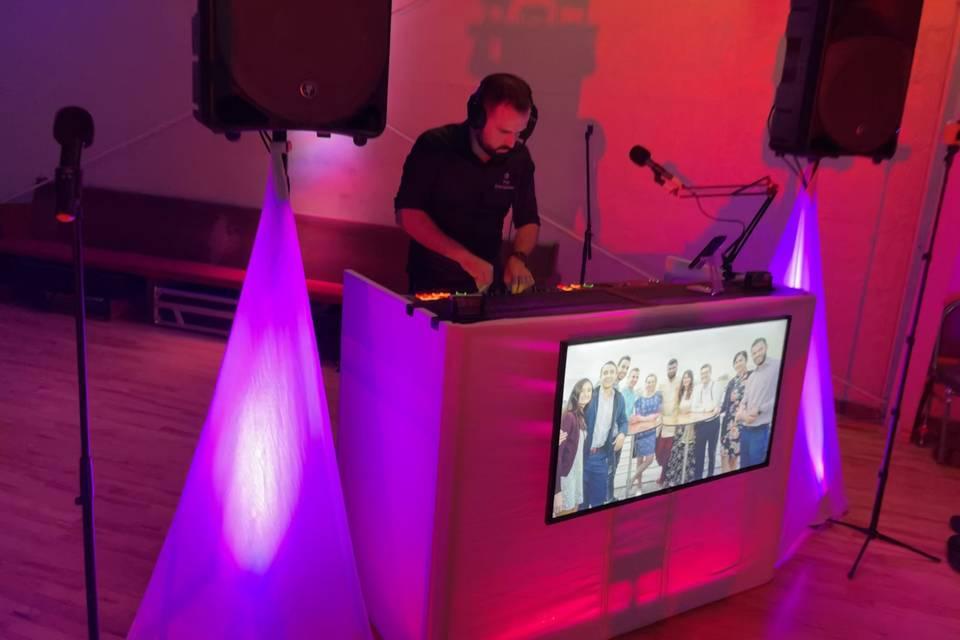 Professional DJ Booth