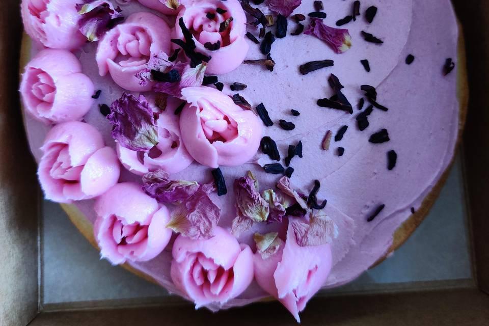 Vanilla bohemian cake