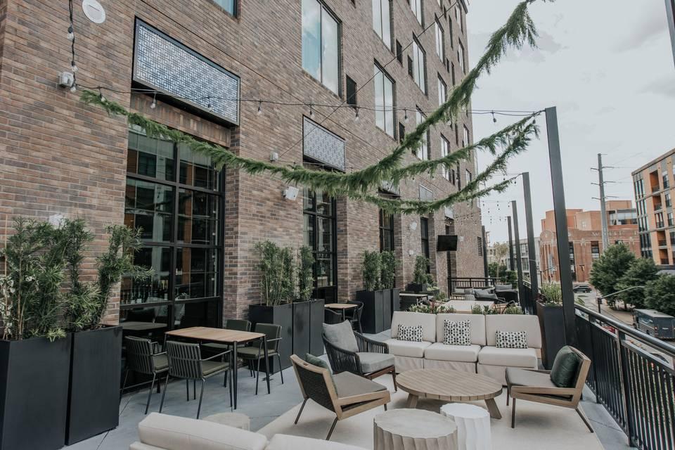 Drawbar Outdoor Terrace