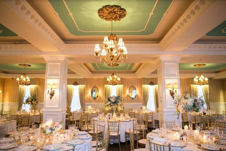 Ballroom interior