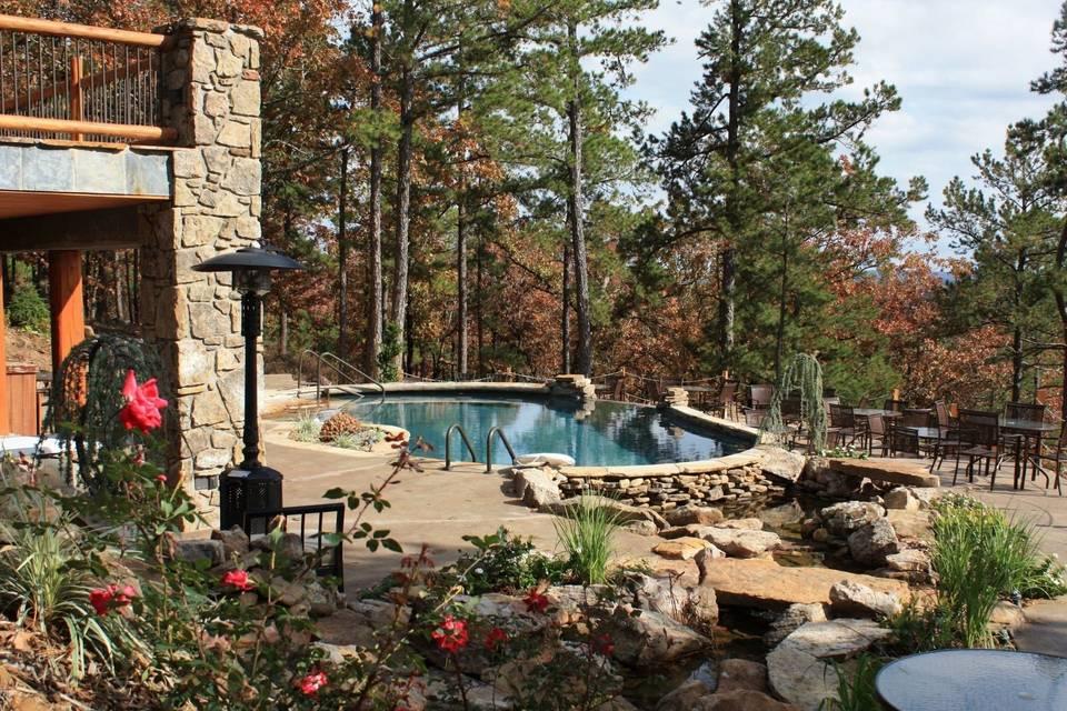 Scenic reception area