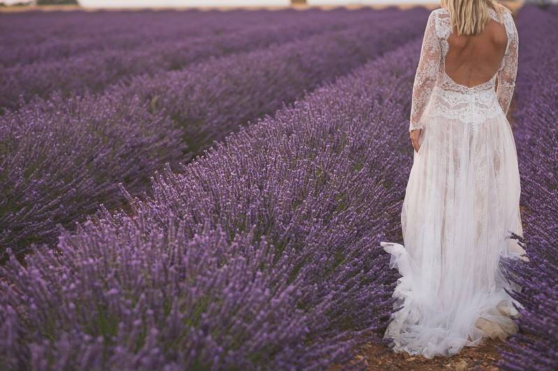Provence Lavender wedding