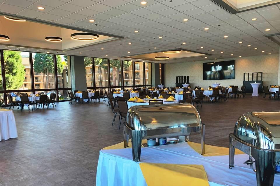 Dinner in Event Center