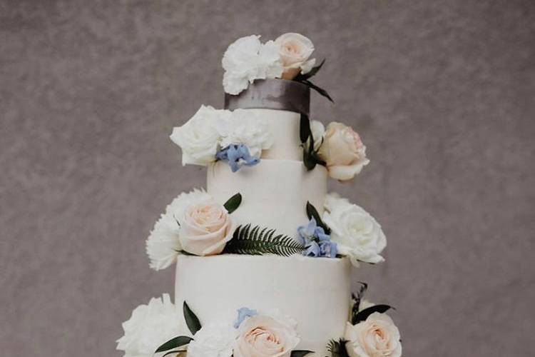 Five Tier Cake