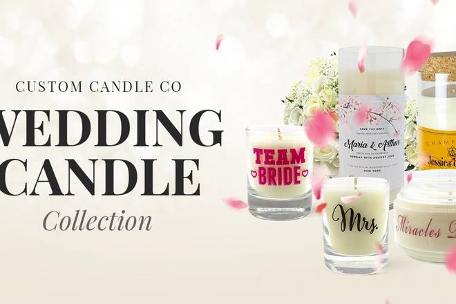 Personalize Wedding Candle