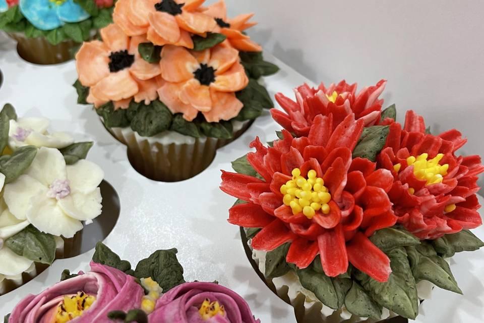 Bouquet 1 close-ups