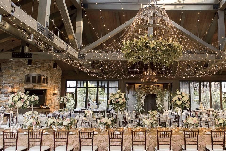 Stunning reception layout