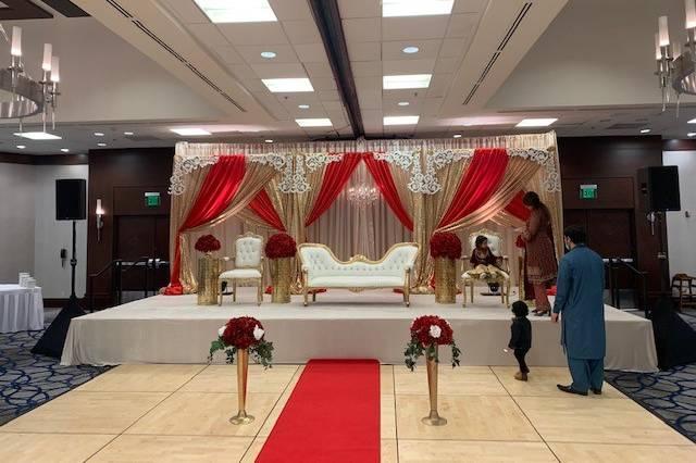 Grand Ballroom red