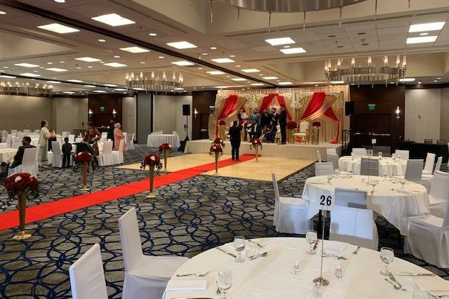 Grand Ballroom red carpet