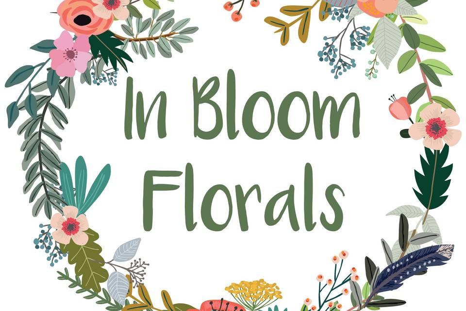 In Bloom Florals Logo